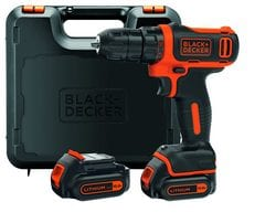 Perceuse Visseuse Sans Fil Black Decker 10,8 V